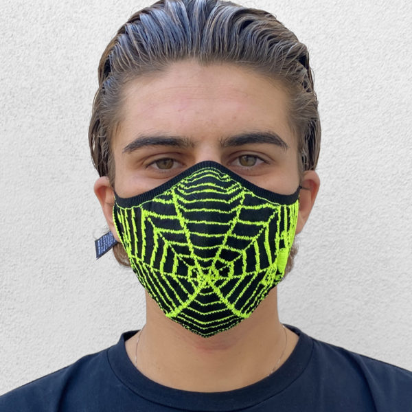 SWIP MASK –  M SPIDER GIALLO